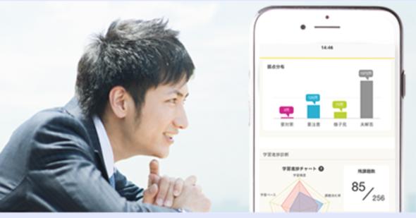 宅建ユーキャン通信講座の携帯アプリ