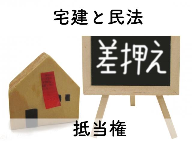 宅建士の過去問解説の抵当権について