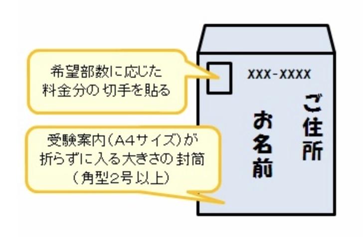 「マンション管理士試験」の受験案内を郵送で請求する方法